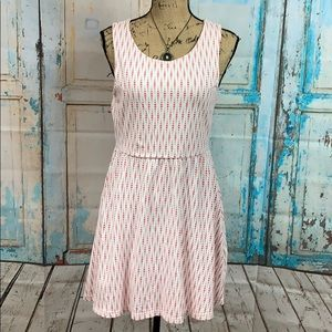 JJ Basics Sleeveless Dress With Open Back Size L